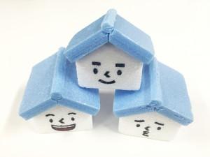 家みつくんの作り方~発泡スチロール編~